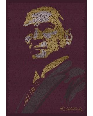 Puzzle Art Puzzle - Mustafa Kemal Ataturk, 1500 piese (Art-Puzzle-4552)