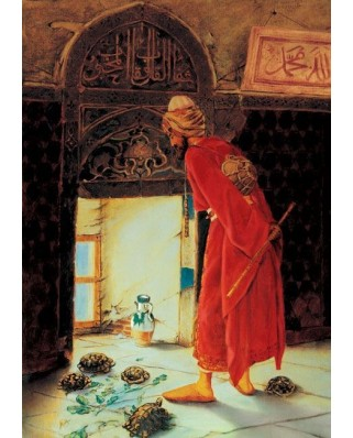Puzzle Art Puzzle - Osman Hamdi Bey: The Turtle Trainer, 2.000 piese (Art-Puzzle-4713)