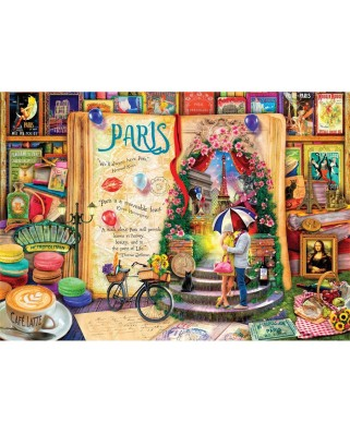Puzzle Art Puzzle - Paris, 1.000 piese (Art-Puzzle-4361)