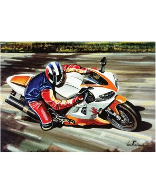Puzzle Art Puzzle - Racing Motorcycle, 500 piese (Art-Puzzle-4201)