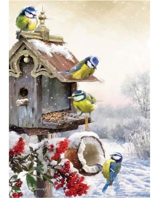 Puzzle Art Puzzle - Richard Macneil: Bluetits, 500 piese (Art-Puzzle-4197)