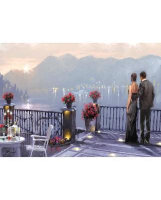 Puzzle Art Puzzle - Richard Macneil: Lake Cafe, 1.000 piese (Art-Puzzle-4449)
