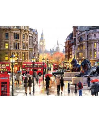 Puzzle Art Puzzle - Richard Macneil: London, 2.000 piese (Art-Puzzle-4712)