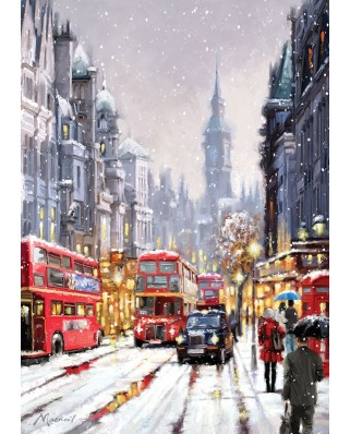 Puzzle Art Puzzle - Richard Macneil: Whitehall in Snow, 1500 piese (Art-Puzzle-4637)