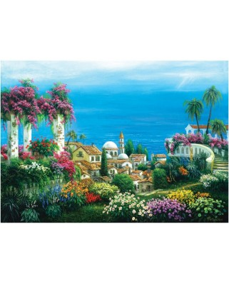 Puzzle Art Puzzle - Seaside Town, 3.000 piese (Art-Puzzle-4590)