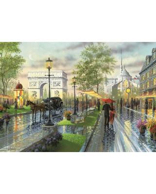 Puzzle Art Puzzle - Spring Walk, Paris, 1.000 piese (Art-Puzzle-4225)