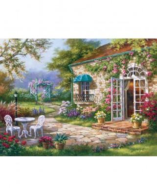 Puzzle Art Puzzle - Sung Kim : Spring Patio II, 500 piese (Art-Puzzle-4177)