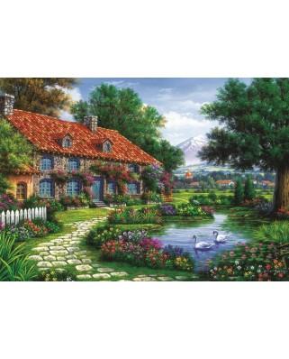 Puzzle Art Puzzle - The Garden, 1500 piese (Art-Puzzle-4551)