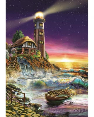 Puzzle Art Puzzle - The Lighthouse, 500 piese (Art-Puzzle-4210)