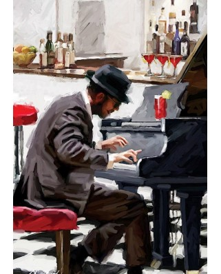 Puzzle Art Puzzle - The Pianist, 1500 piese (Art-Puzzle-4619)