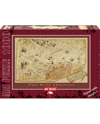 Puzzle Art Puzzle - The Piri Reis Map, 1.000 piese (Art-Puzzle-4308)