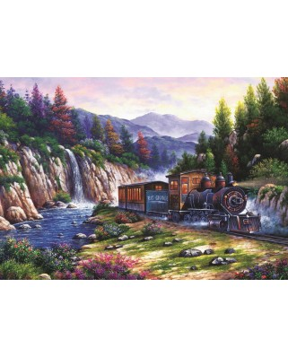 Puzzle Art Puzzle - Travelling by Train, 1.000 piese (Art-Puzzle-4233)