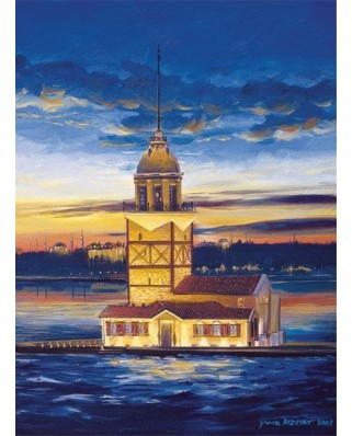 Puzzle Art Puzzle - Turcia - Maiden's Tower, 500 piese (Art-Puzzle-4159)