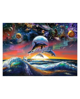 Puzzle Art Puzzle - Universal Dolphins, 500 piese (Art-Puzzle-4162)