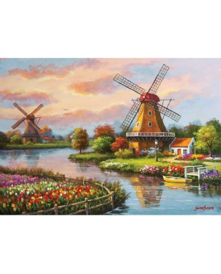 Puzzle Art Puzzle - Windmills, 1.000 piese (Art-Puzzle-4354)