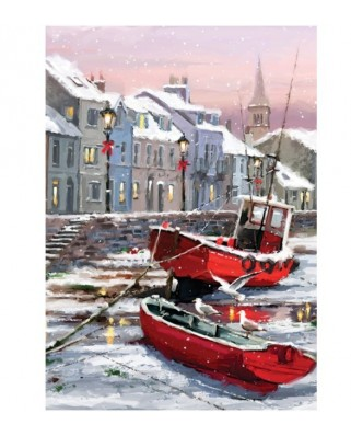 Puzzle Art Puzzle - Winter's Residents, 1500 piese (Art-Puzzle-4544)