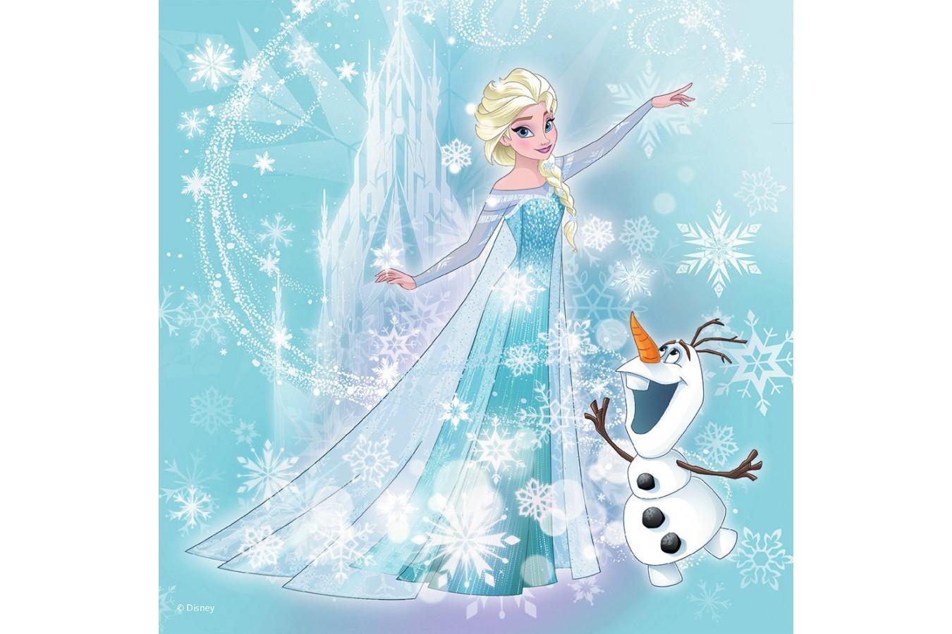 Puzzle Ravensburger - Frozen, 25/36/49 piese (07003)