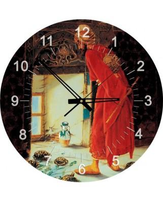 Puzzle ceas Art Puzzle - Osman Hamdi Bey: The Turtle Trainer, 570 piese (Art-Puzzle-4295)