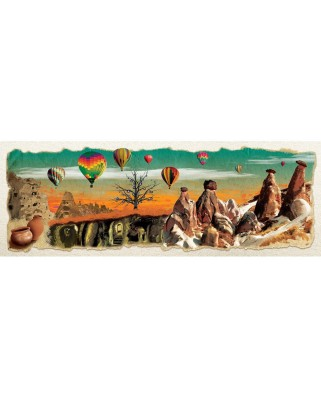Puzzle panoramic Art Puzzle - Collage - Nevsehir, 1.000 piese (Art-Puzzle-4478)