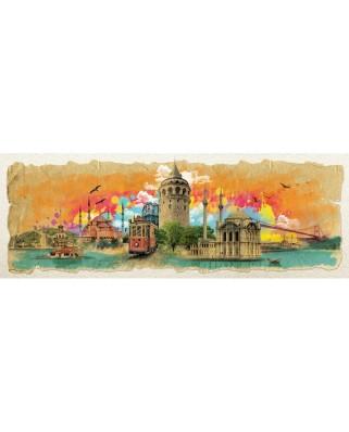 Puzzle panoramic Art Puzzle - Istanbul, 1000 piese (Art-Puzzle-4477)