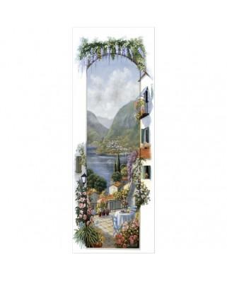 Puzzle panoramic Art Puzzle - Peter Motz : Lago Maggiore, 1.000 piese (Art-Puzzle-4335)