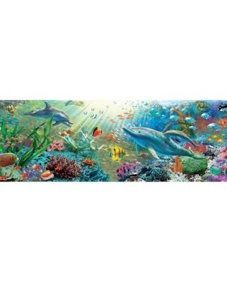 Puzzle panoramic Art Puzzle - Underwater Paradise, 1.000 piese (Art-Puzzle-4474)