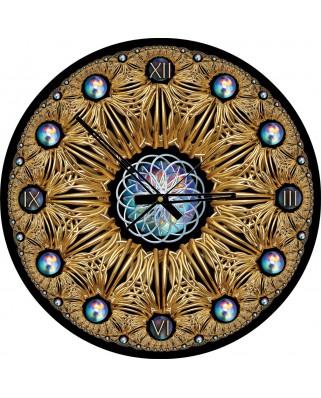 Puzzle rotund Art Puzzle - Clock Puzzle, 570 piese (Art-Puzzle-4148)