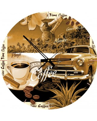 Puzzle rotund Art Puzzle - Coffe Time, 570 piese (Art-Puzzle-4289)