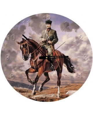 Puzzle rotund Art Puzzle - Ghazi Mustafa Kemal Ataturk, 570 piese (Art-Puzzle-4135)