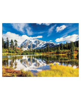 Puzzle Educa - Mount Shuksan, Washington, USA, 3.000 piese, include lipici (18011)