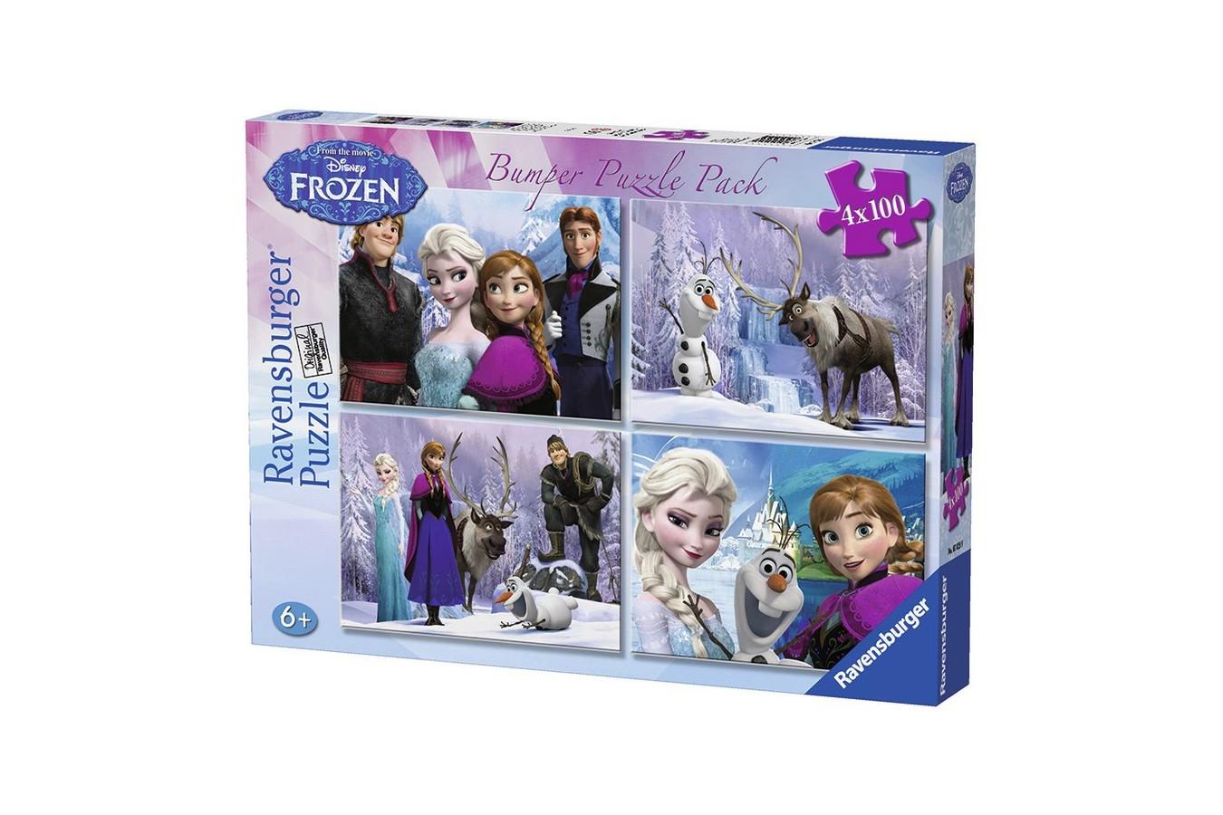 Puzzle Ravensburger - Frozen, 100 piese (07029)