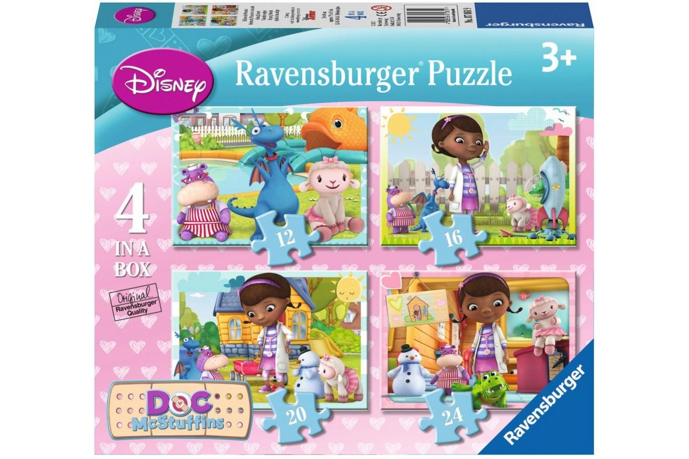 Puzzle Ravensburger - Doctorita Plusica, 12/16/20/24 piese (07061)