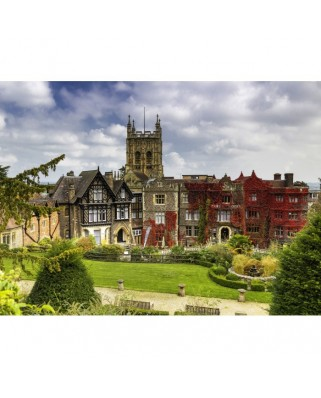 Puzzle Grafika - Abbey Hotel in Great Malvern, 300 piese (02923)