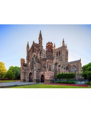 Puzzle Grafika - Hereford Cathedral, 1.000 piese (02924)