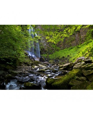 Puzzle Grafika - Melincwrt Waterfall near Neath, 1.000 piese (02932)