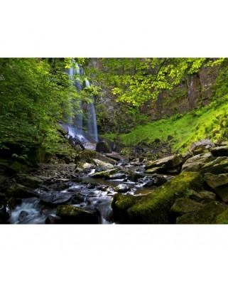Puzzle Grafika - Melincwrt Waterfall near Neath, 300 piese (02933)