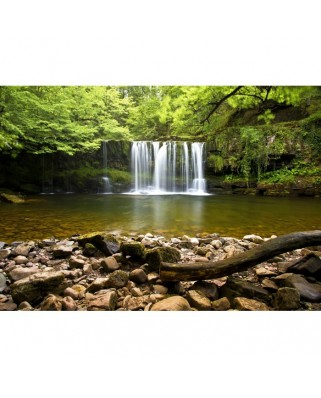 Puzzle Grafika - Sgwd Clun-Gwyn Waterfall Near Neath, 1.000 piese (02934)
