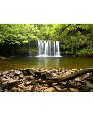 Puzzle Grafika - Sgwd Clun-Gwyn Waterfall Near Neath, 300 piese (02935)