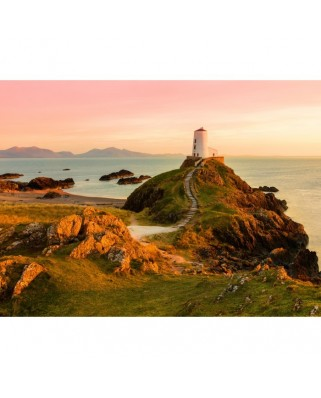 Puzzle Grafika - Old Lighthouse at Llanddwyn Island, Anglesey, 2.000 piese (02936)