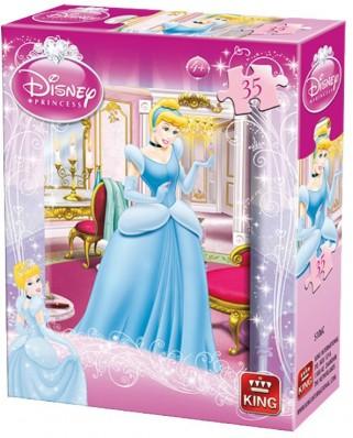 Puzzle King - Disney Princess, 35 piese (05106-C)