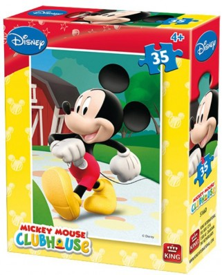 Puzzle King - Disney - Club House, 35 piese (05166-D)