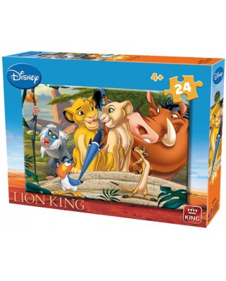 Puzzle King - The Lion King, 24 piese (05247-A)