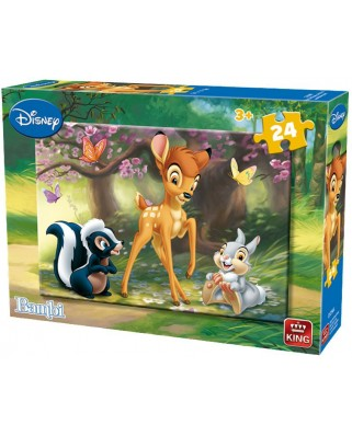 Puzzle King - Bambi, 24 piese (05256-A)