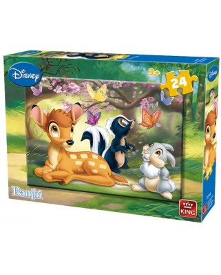 Puzzle King - Bambi, 24 piese (05256-B)