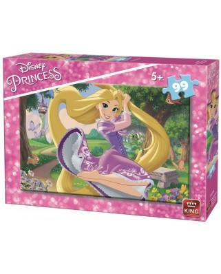Puzzle King - Disney Princess, 99 piese (05259-B)