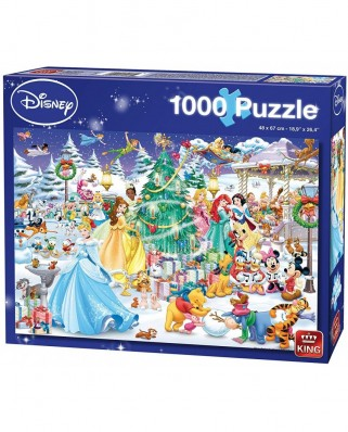 Puzzle King - Disney Winter Wonderland, 1.000 piese (05266)