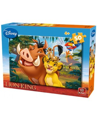 Puzzle King - The Lion King, 50 piese (05269-A)