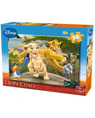 Puzzle King - The Lion King, 50 piese (05269-B)