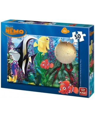 Puzzle King - Finding Nemo, 50 piese (05287-A)