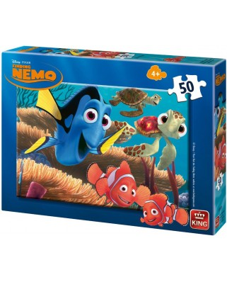 Puzzle King - Finding Nemo, 50 piese (05287-B)